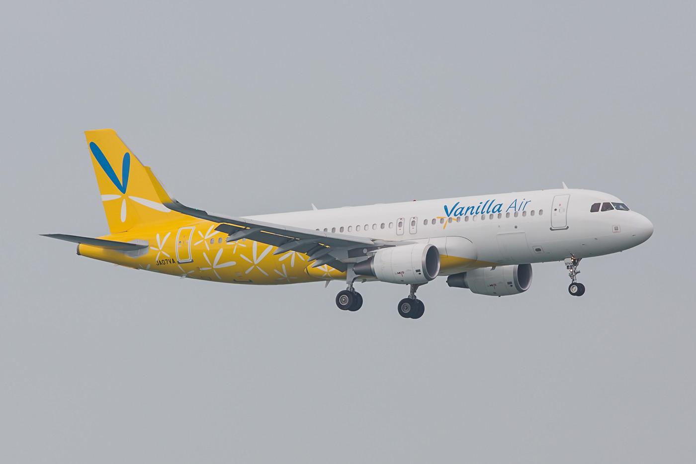 Vanilla Air ist das Ergebniss der gescheiterten Zusammenarbeit von ANA und Air Asia in Japan.