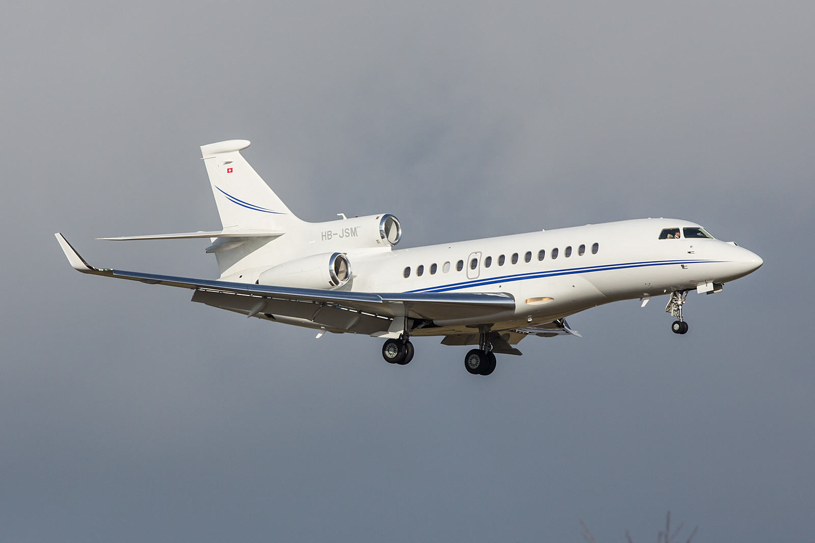 HB-JSM; Jet Aviation Business Jets AG Falcon 7X