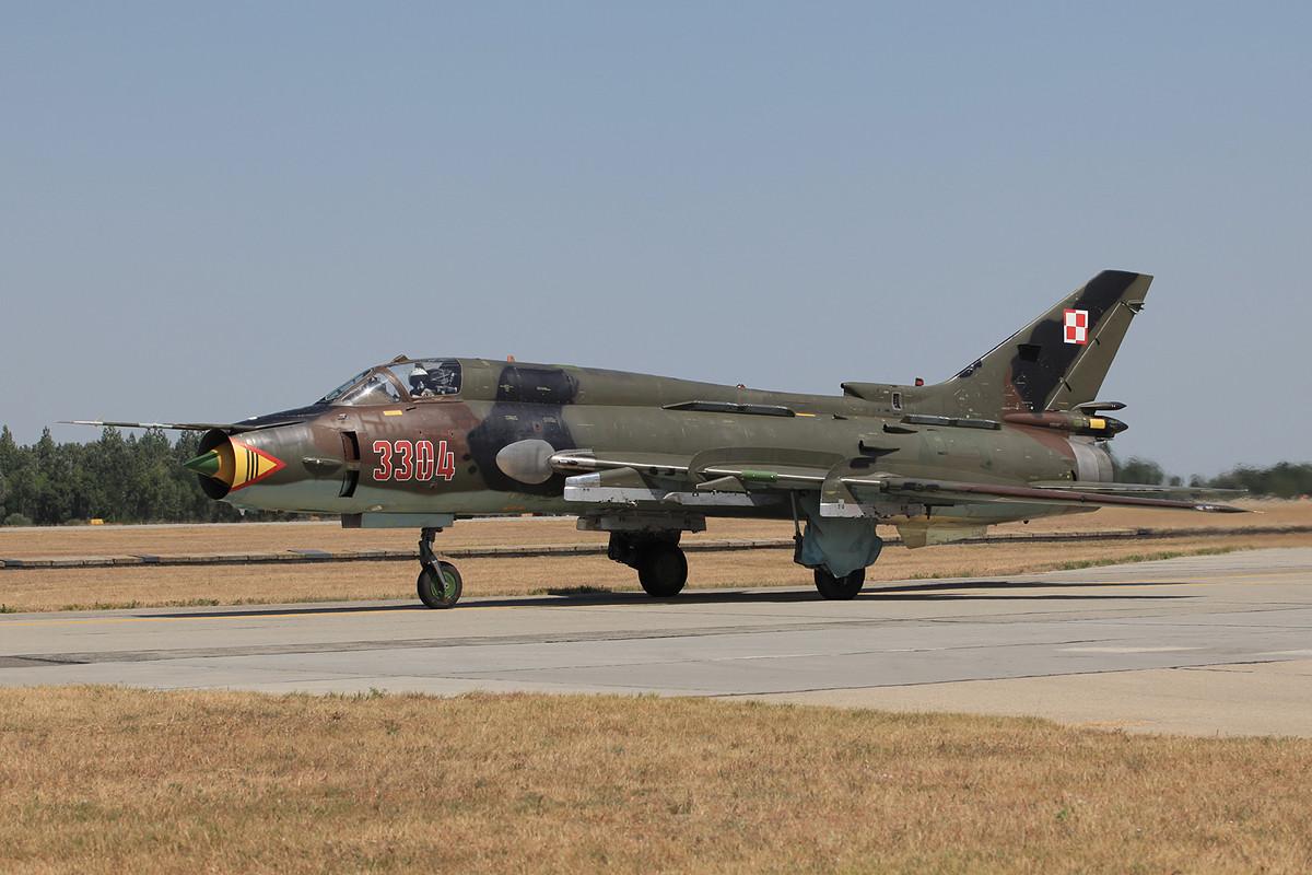 Eine Su-22M-4 aus Swidwin