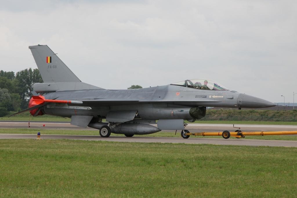 F-16C der Belgischen Luftwaffe aus Kleine Brogel.