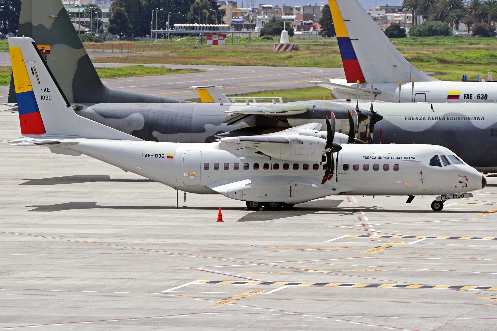 Fuerza Aérea Ecuatoriana CASA C-295M FAE-1030