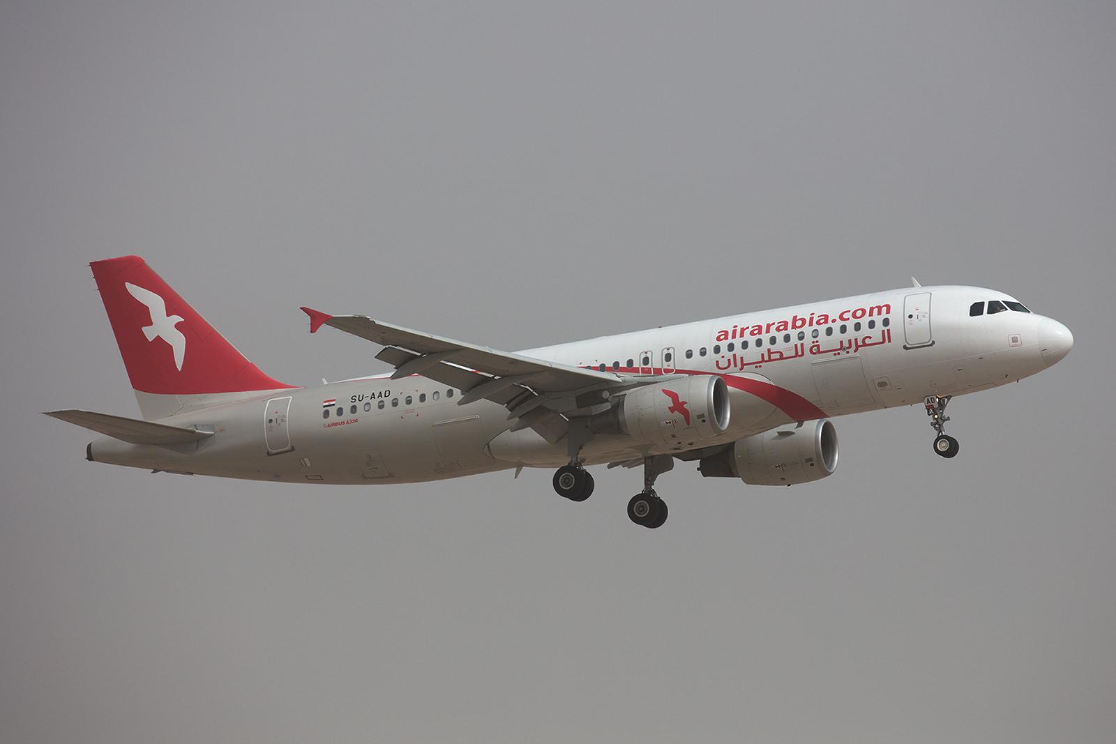 Mitlerweile unterhält die Air Arabia auch eine Tochter in Ägypten.