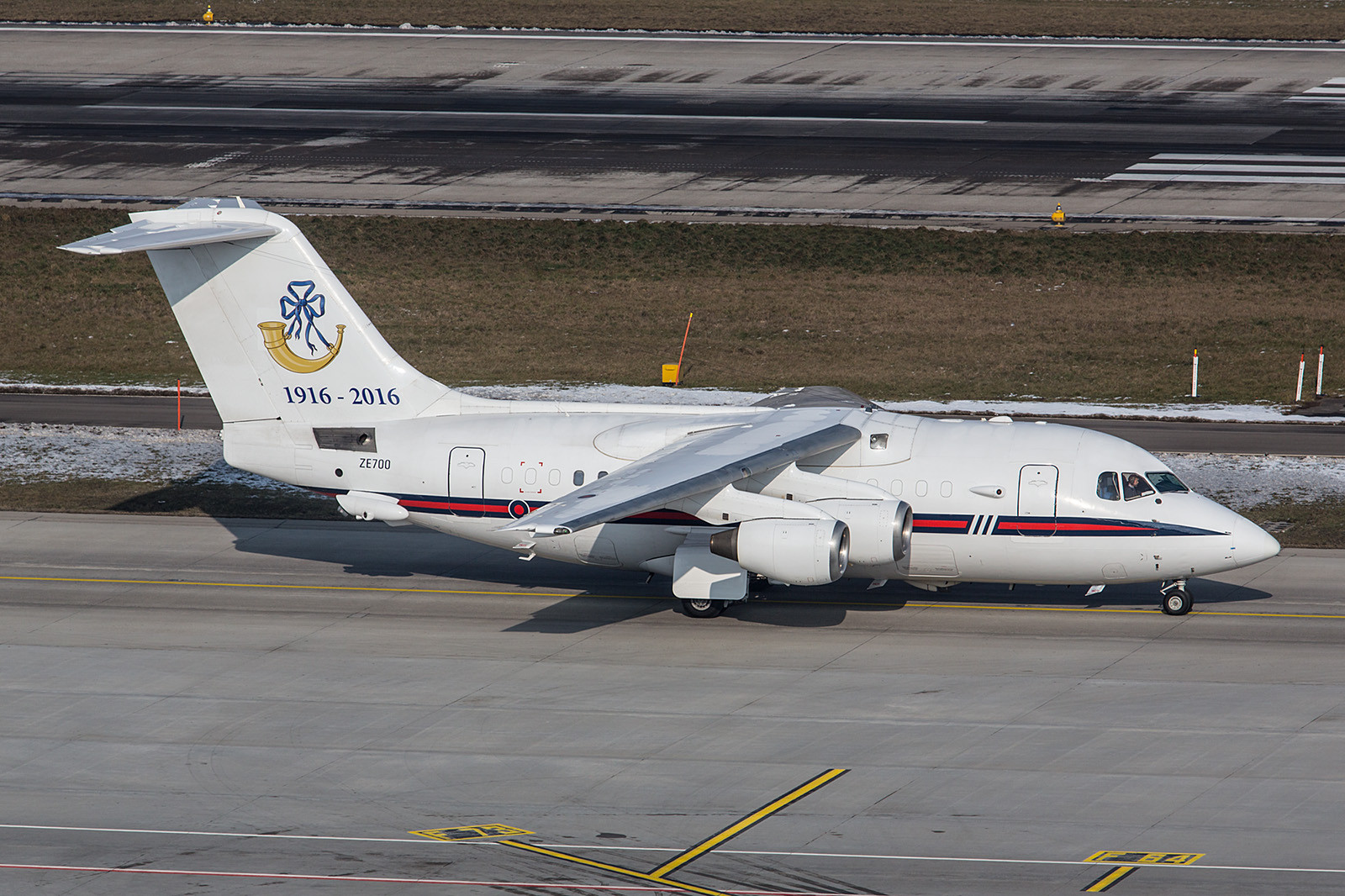 ZE700, BAE 146 der Royal Air Force.