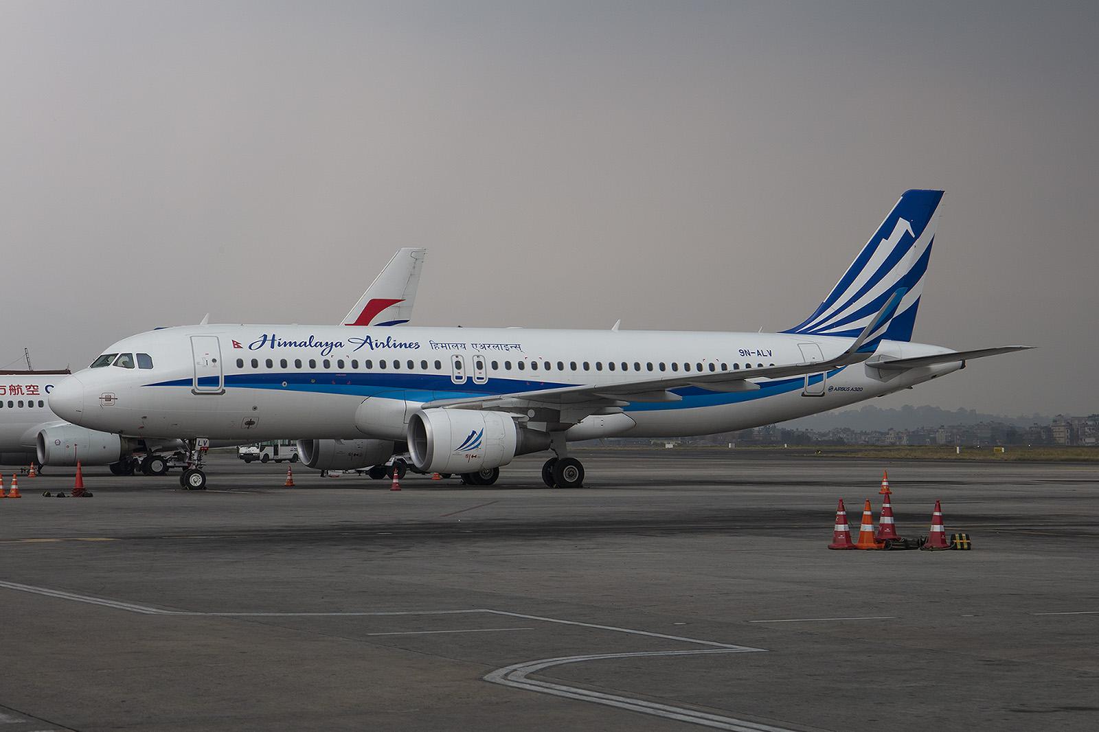 Relativ jung ist die Himalaya Airlines, die derzeit vier A320 besitzt.