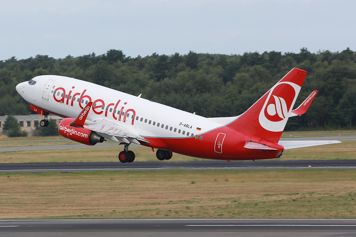 Air Berlin ist die klare Nummer 1 in TXL, so soll es auch sein.