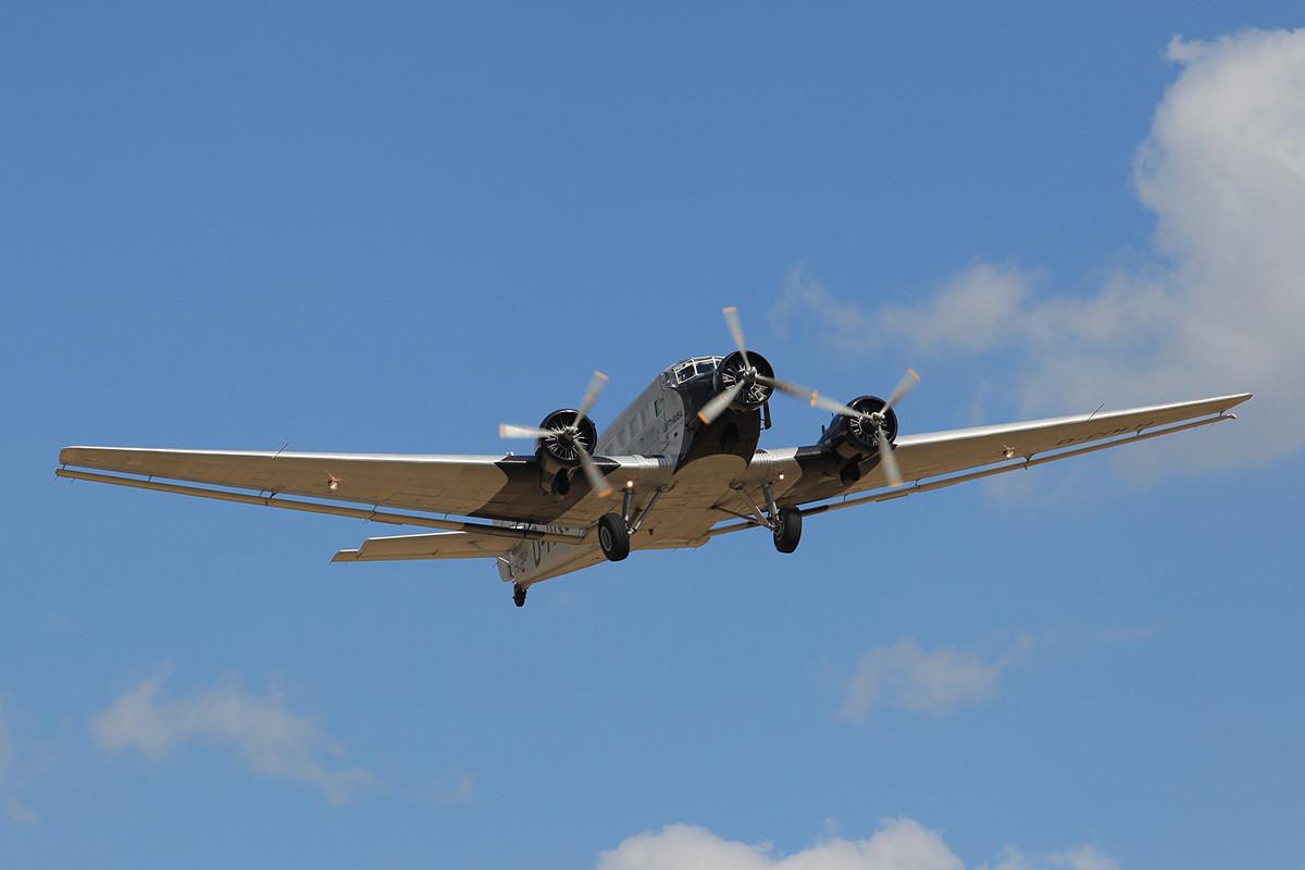 Die Ju-52 der Lufthansa.