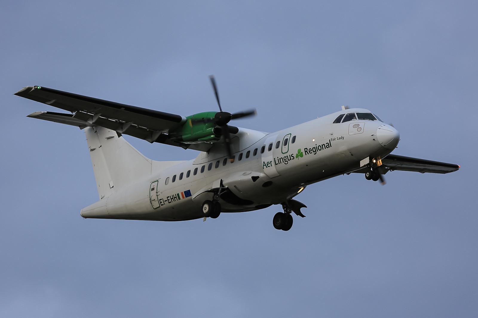 Noch ne ATR von Aer Lingus, diesmal ATR 42