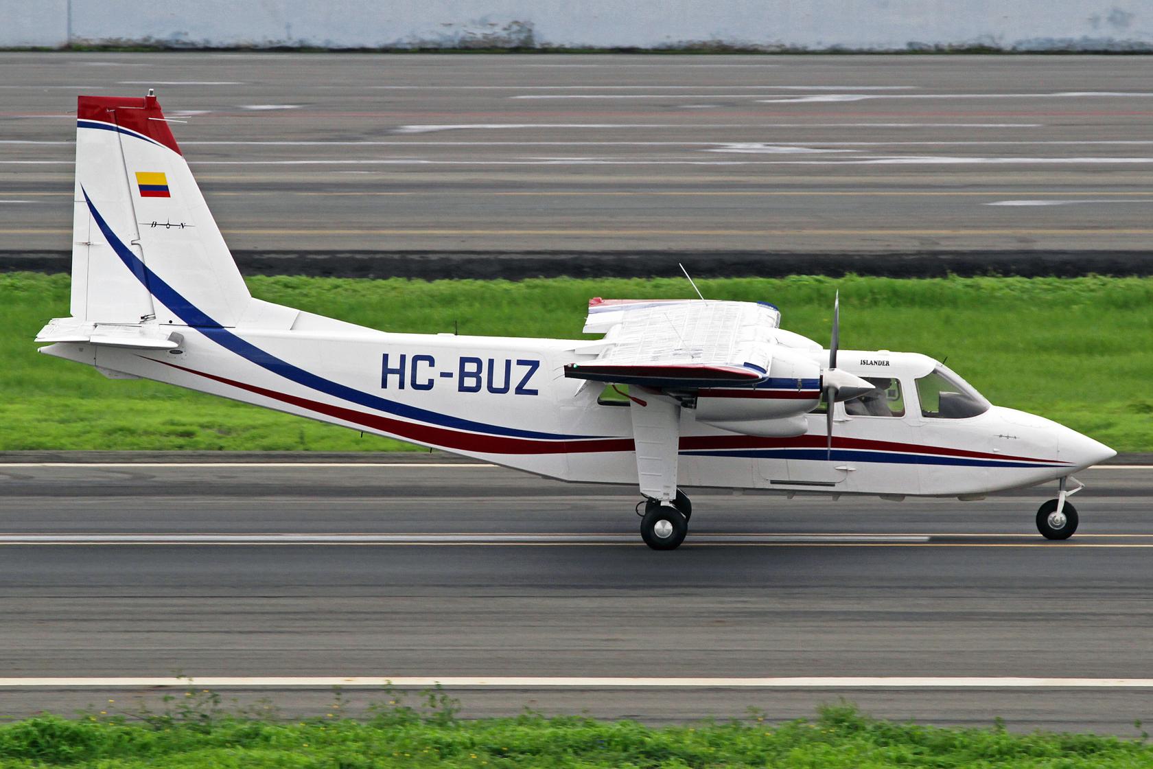 Industrias y Cultivos El Camaron S.A. Britten-Norman BN-2B-26 Islander HC-BUZ