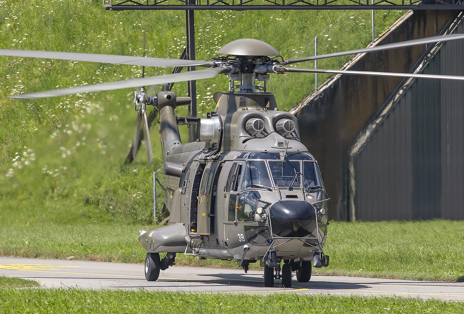 """Die AS532 """"Cougar"""" können bewaffnet werden."""