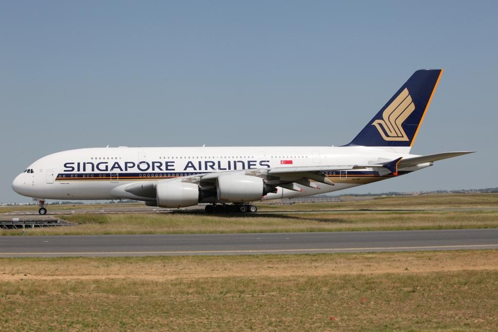 Nach London und Zürich war Paris der dritte Airport, den Singapore mit dem A 380 bediente.