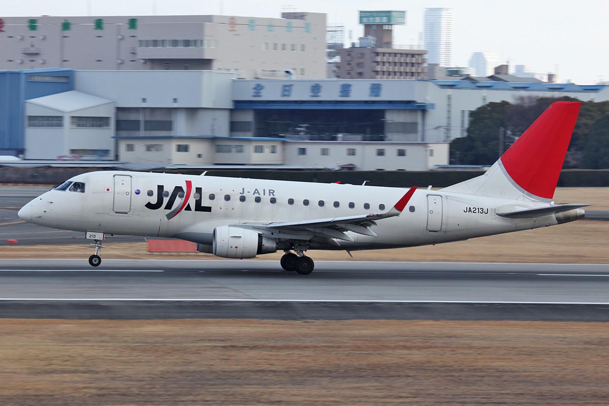 Embraer 170 der JAL Regionaltochter.