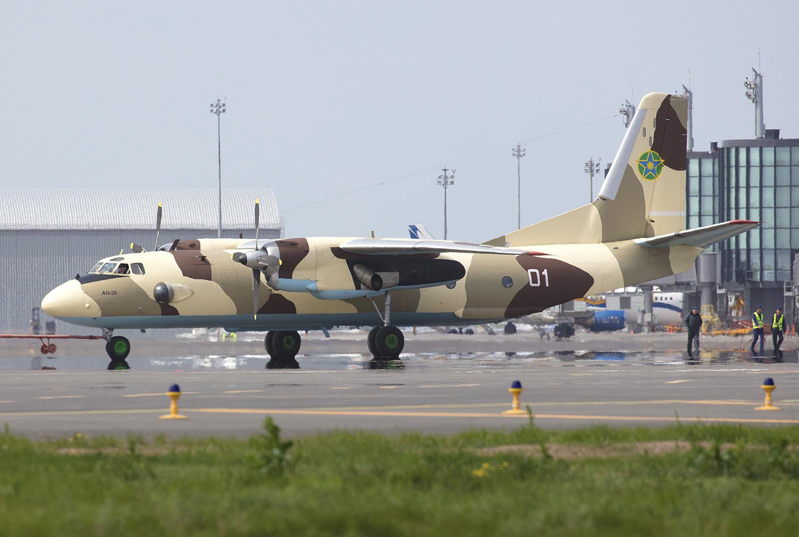 Antonov An-26 des kasachischen Grenzschutzes