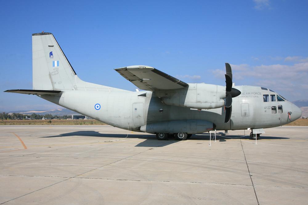 Eine der C-27J Spartan