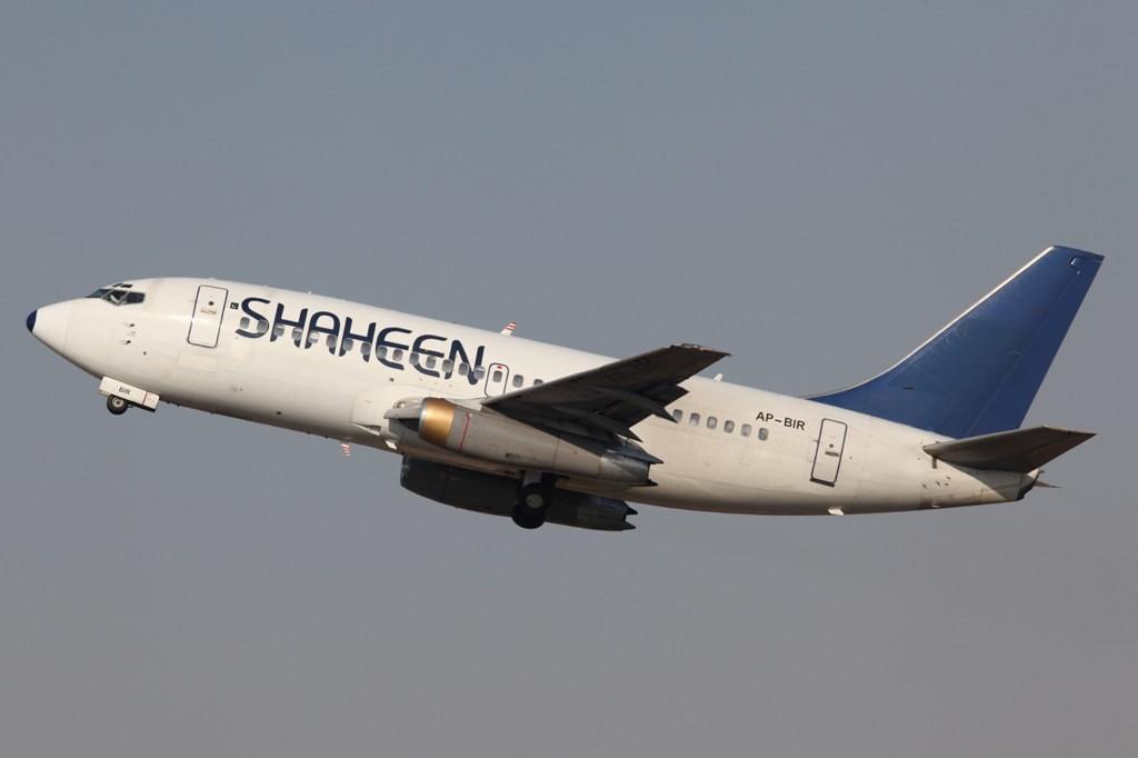 Shaheen Air aus Pakistan operierte damals nur mit der Boeing 737-200, heute sind bereits modernere Muster im Einsatz.