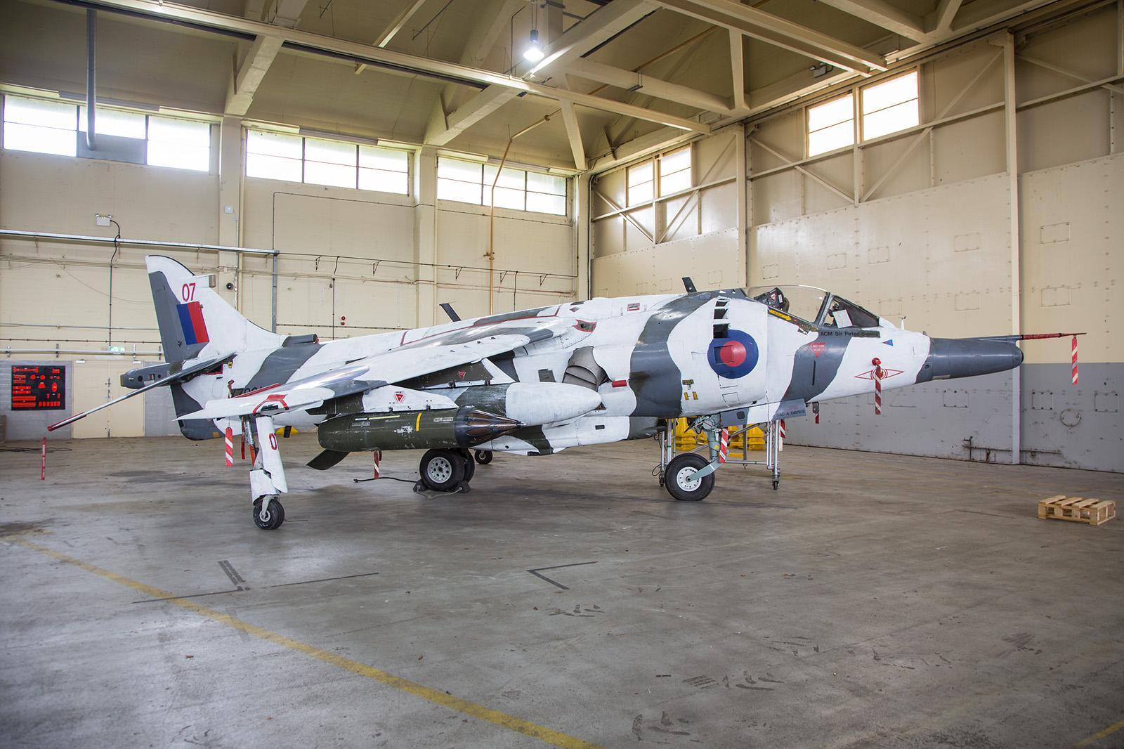 XZ991 ein Harrier GR.3