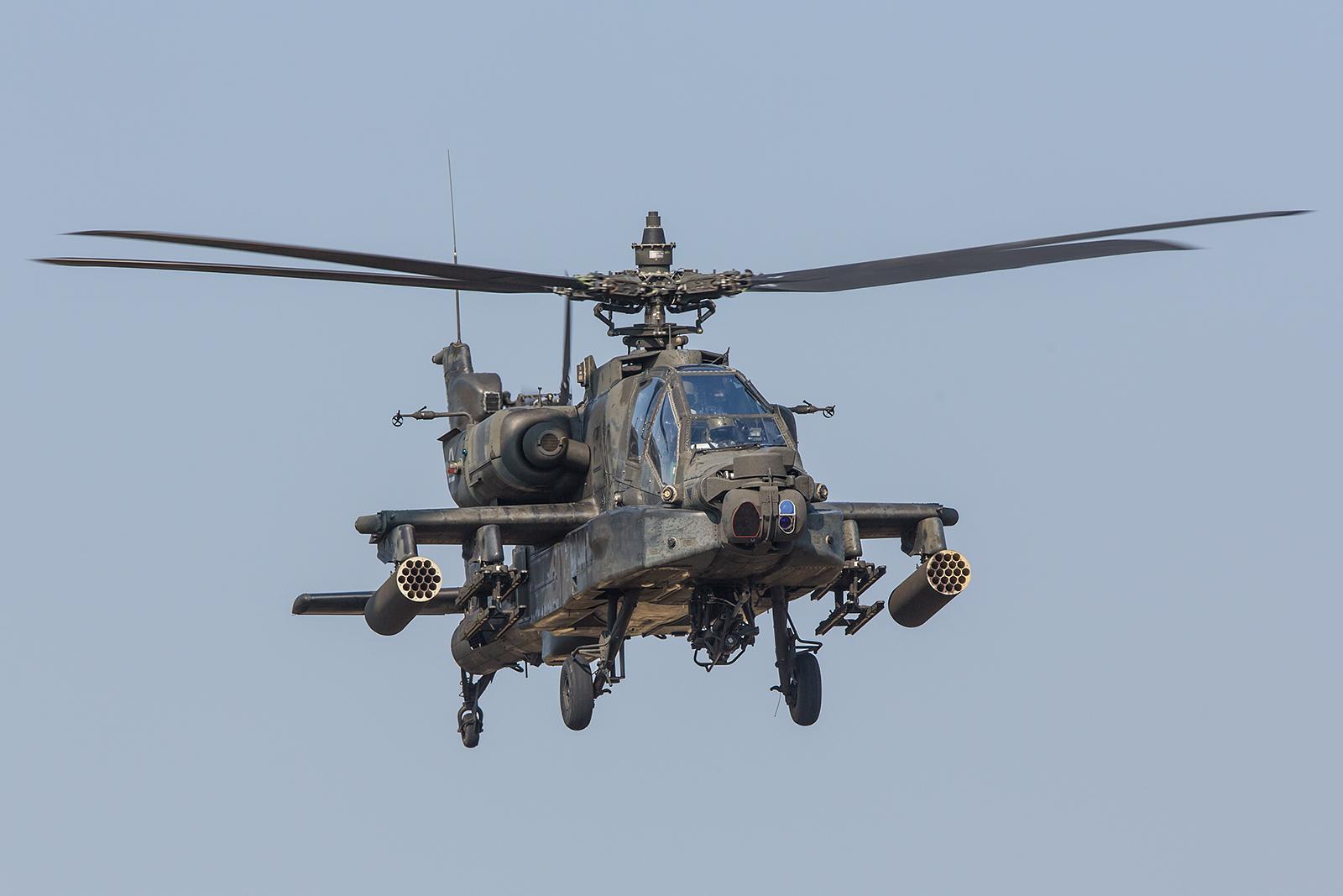 AH-64D des US Army 1-3rd Attack Reconnaissance Battalion aus Illesheim.