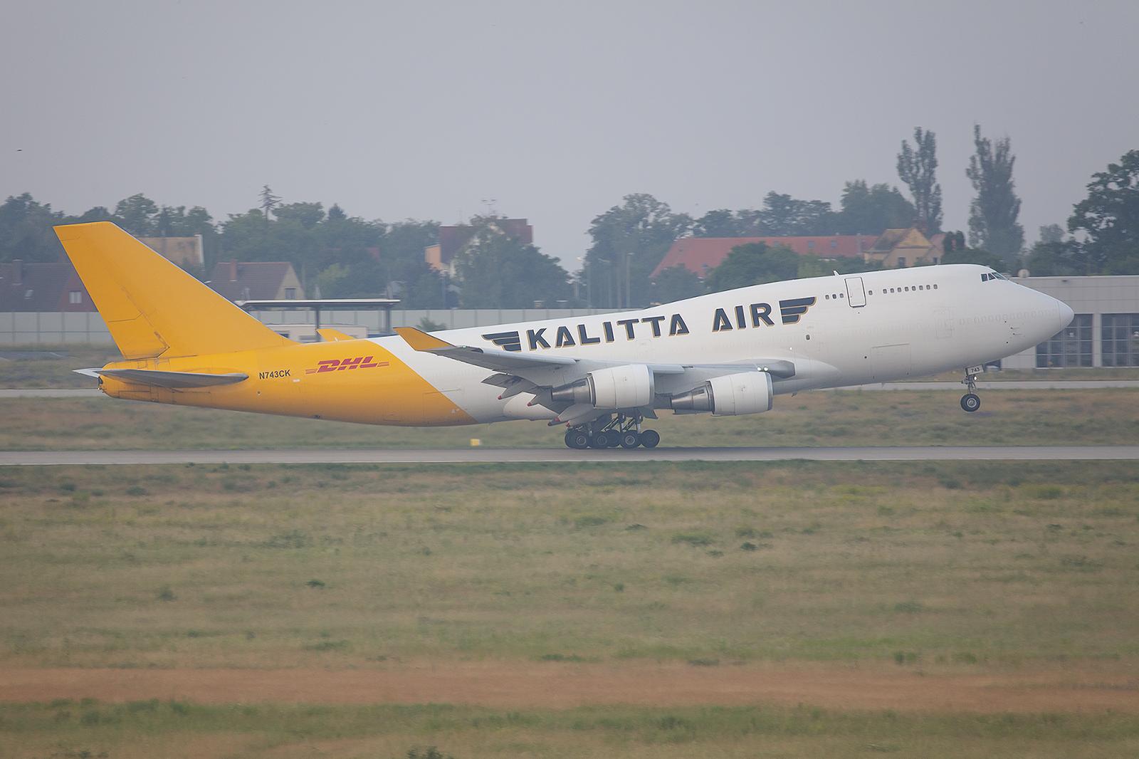 Auch diese Boeing 747-der Kalitta stammt von Japan Airlines.