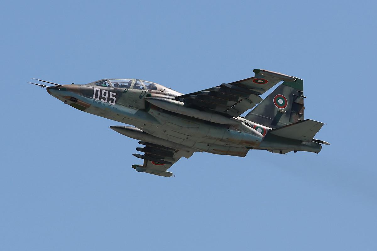 Su-25UGM der bulgarischen LW aus Bezmer