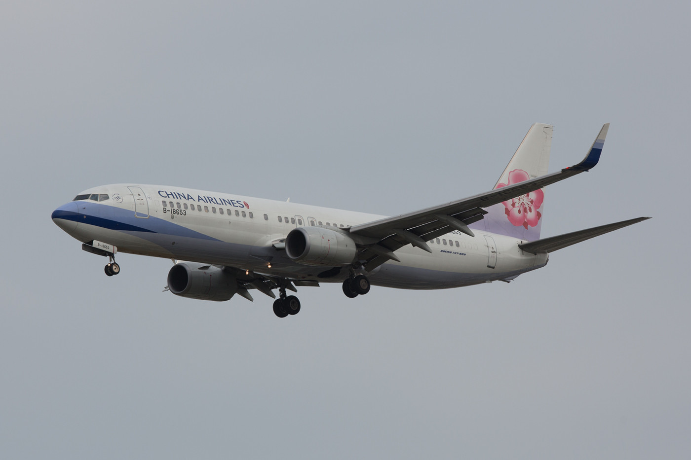 Boeing 737-800 der China Airlines.