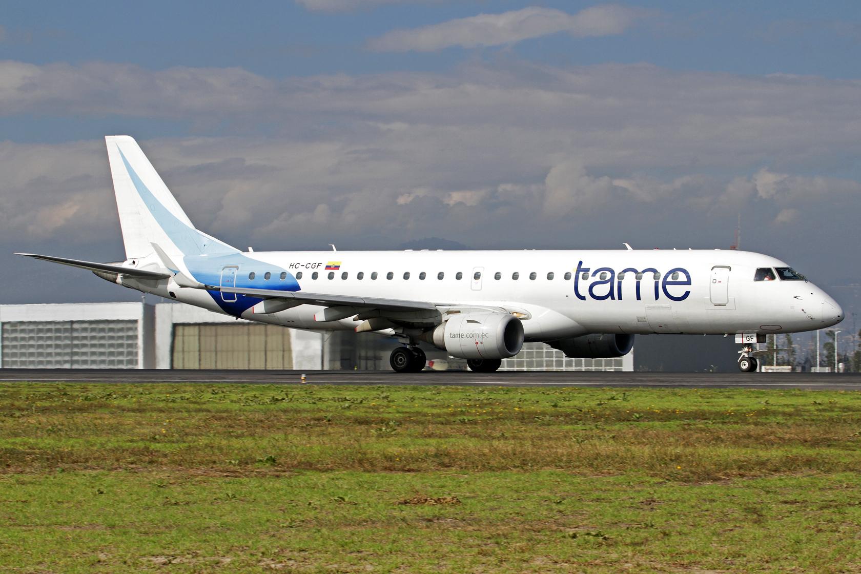 TAME Embraer ERJ-190-100IGW HC-CGF