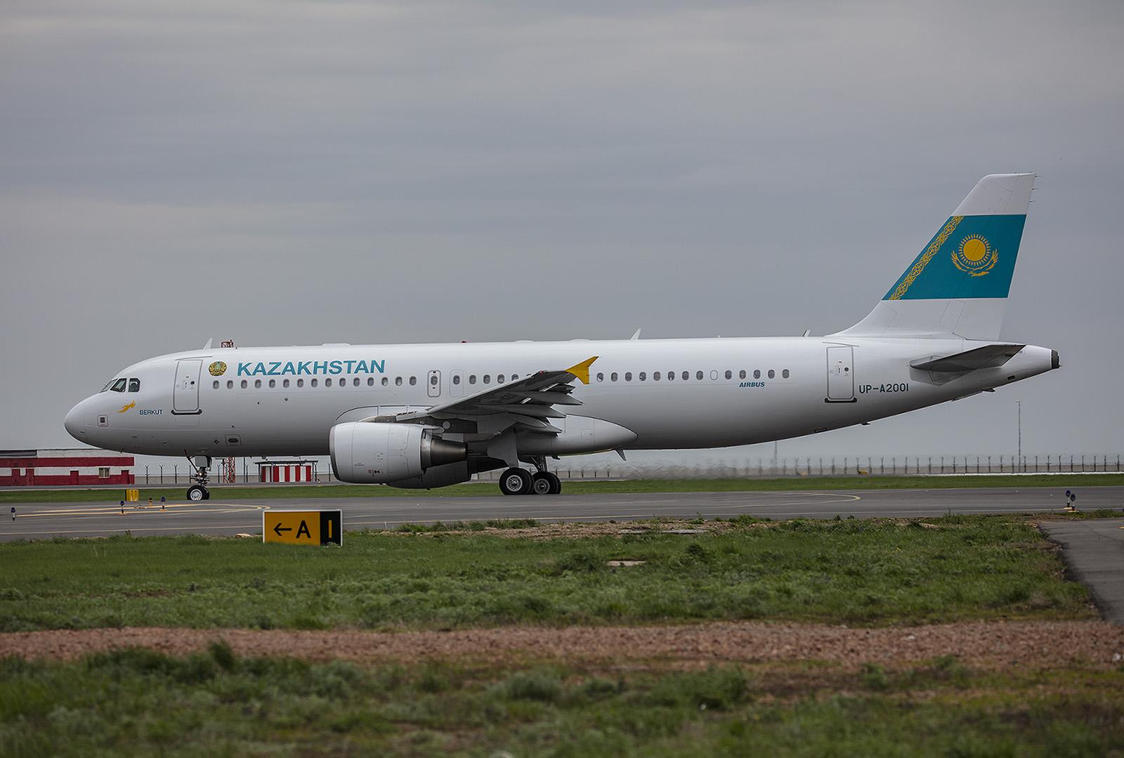 Wie schon die A330 wird die A320 der Regietungsflotte von Berkut betrieben.