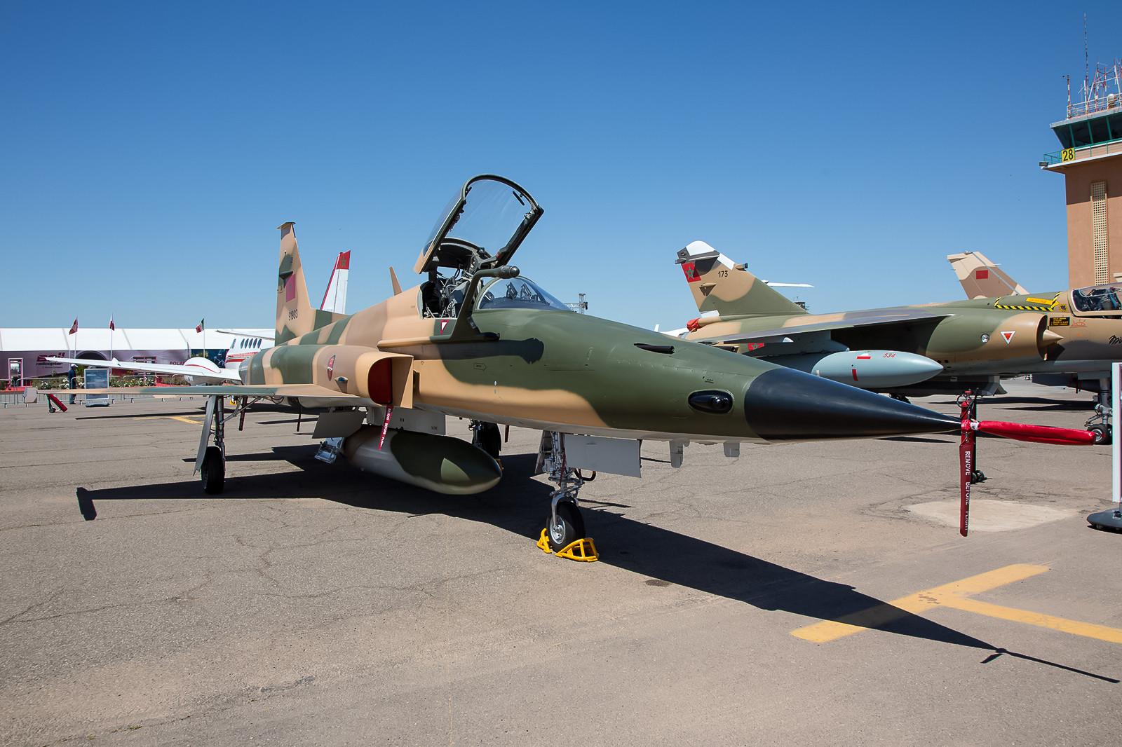 """F-5E der EC 2 """"Tiger"""" aus Meknes."""
