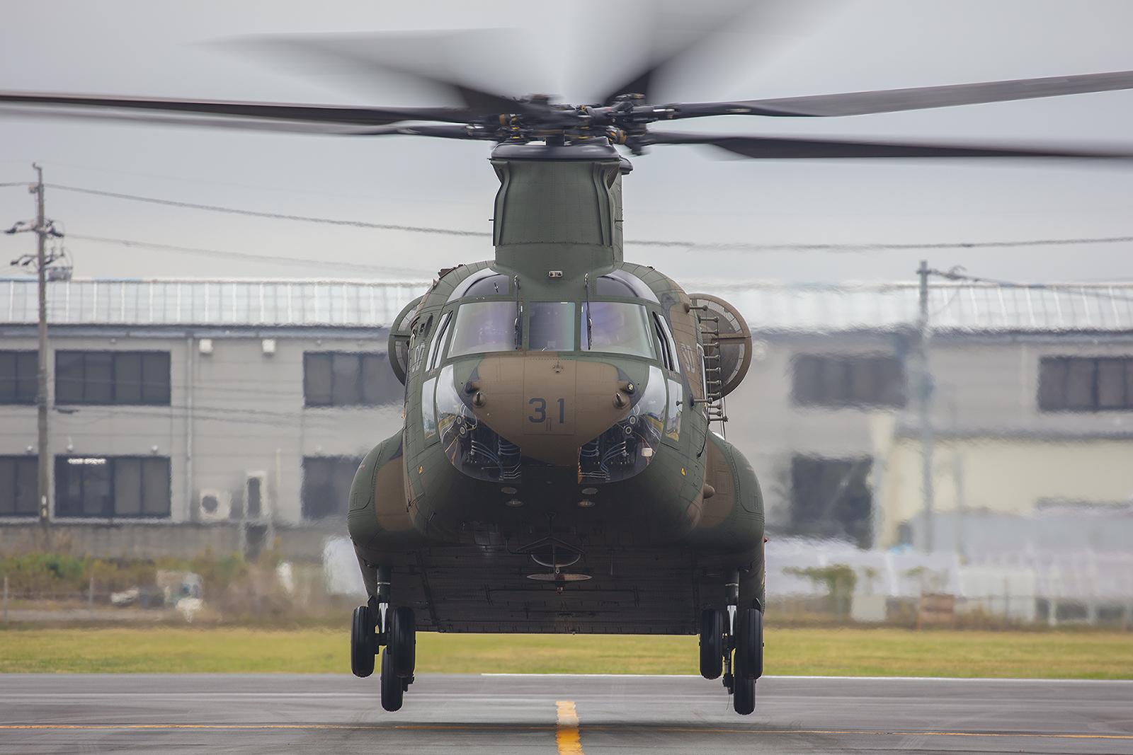 Die CH-47 ist ein beeindruckendes Luftfahrzeug.