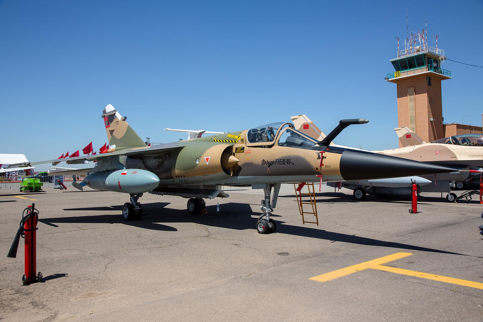 "Die ""175"" im Static Display, sie ist eine F-1EM-VI."