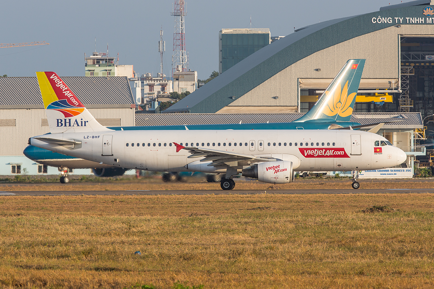 Die LZ-BHF fliegt zum wiederholten Mal für Vietjet.