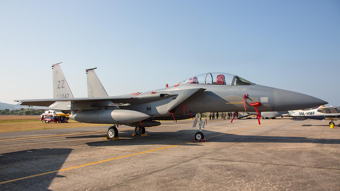 Boeing F-15D der 678th FS aus Kadena auf Okinawa.