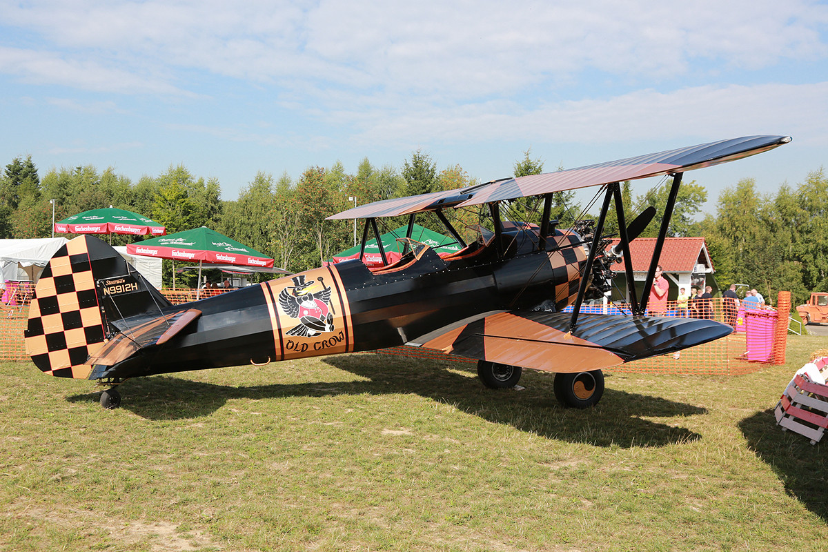 """Die """"Old Crow"""" von Hans Nordsiek ist eine N2S-3 der Navy"""