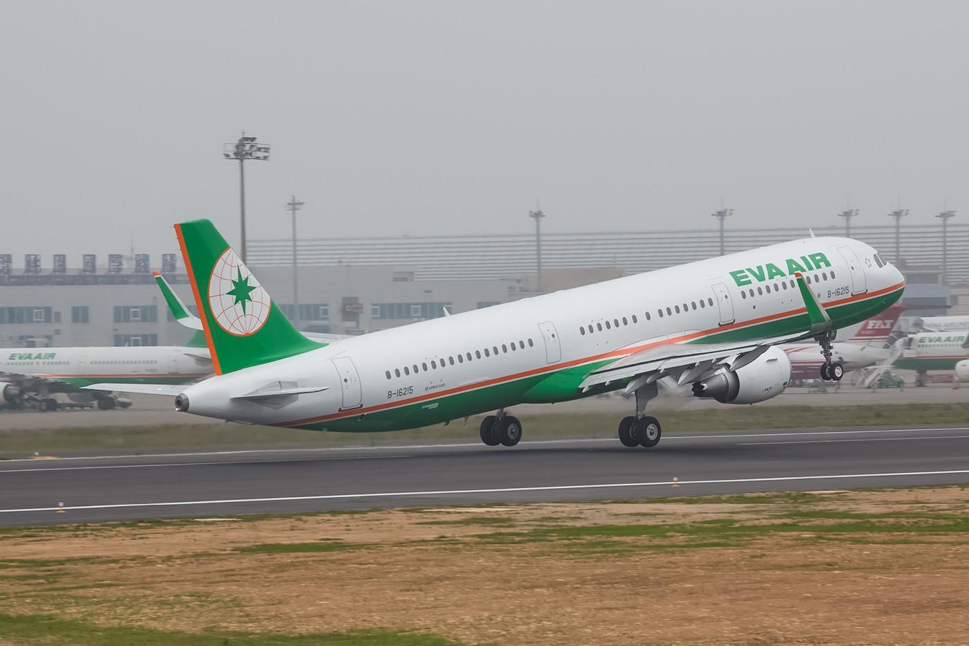 Auf den Kurz- und Mittelstrecken von Eva Airways ist die A 321 mittlerweile Standard.