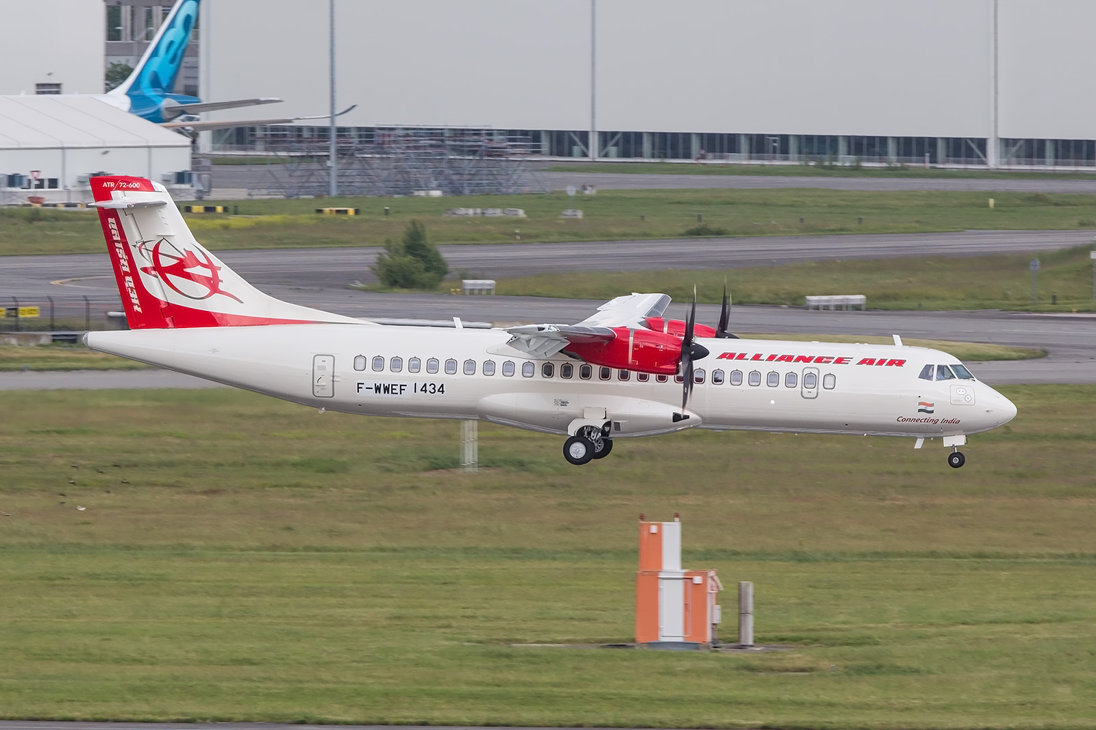 Alliance Air, die Regionaltochter der Air India ist treuer ATR-Kunde.