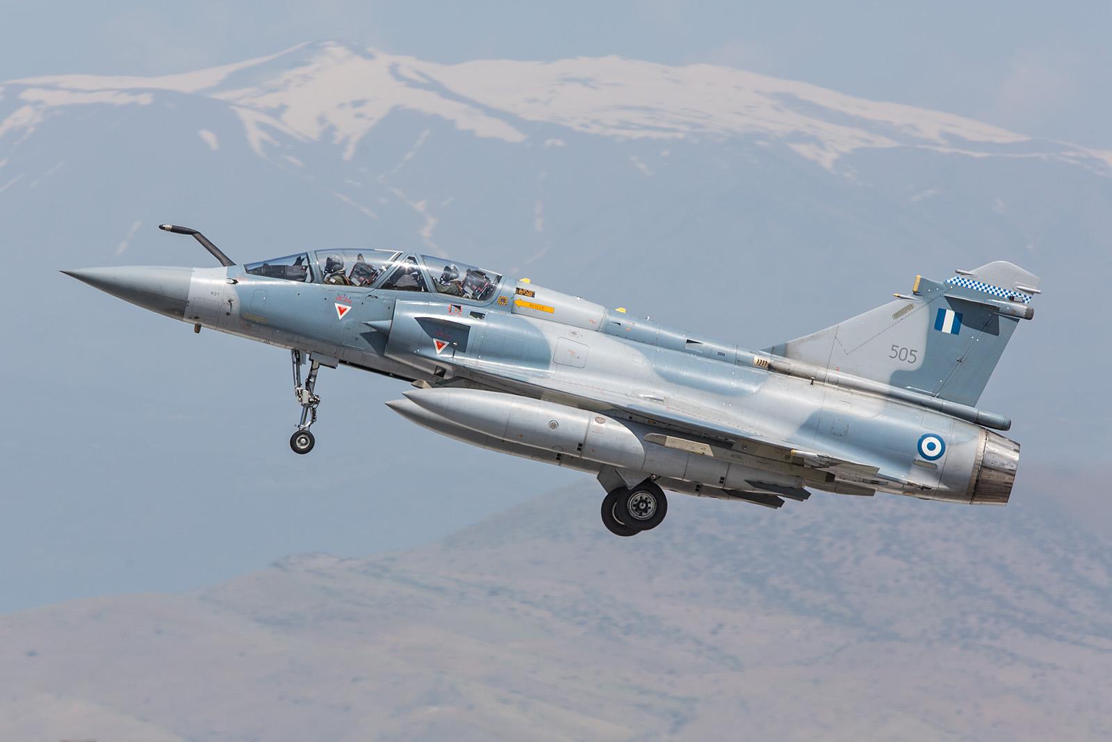 Mirage 2000-5BG aus Tanagra.