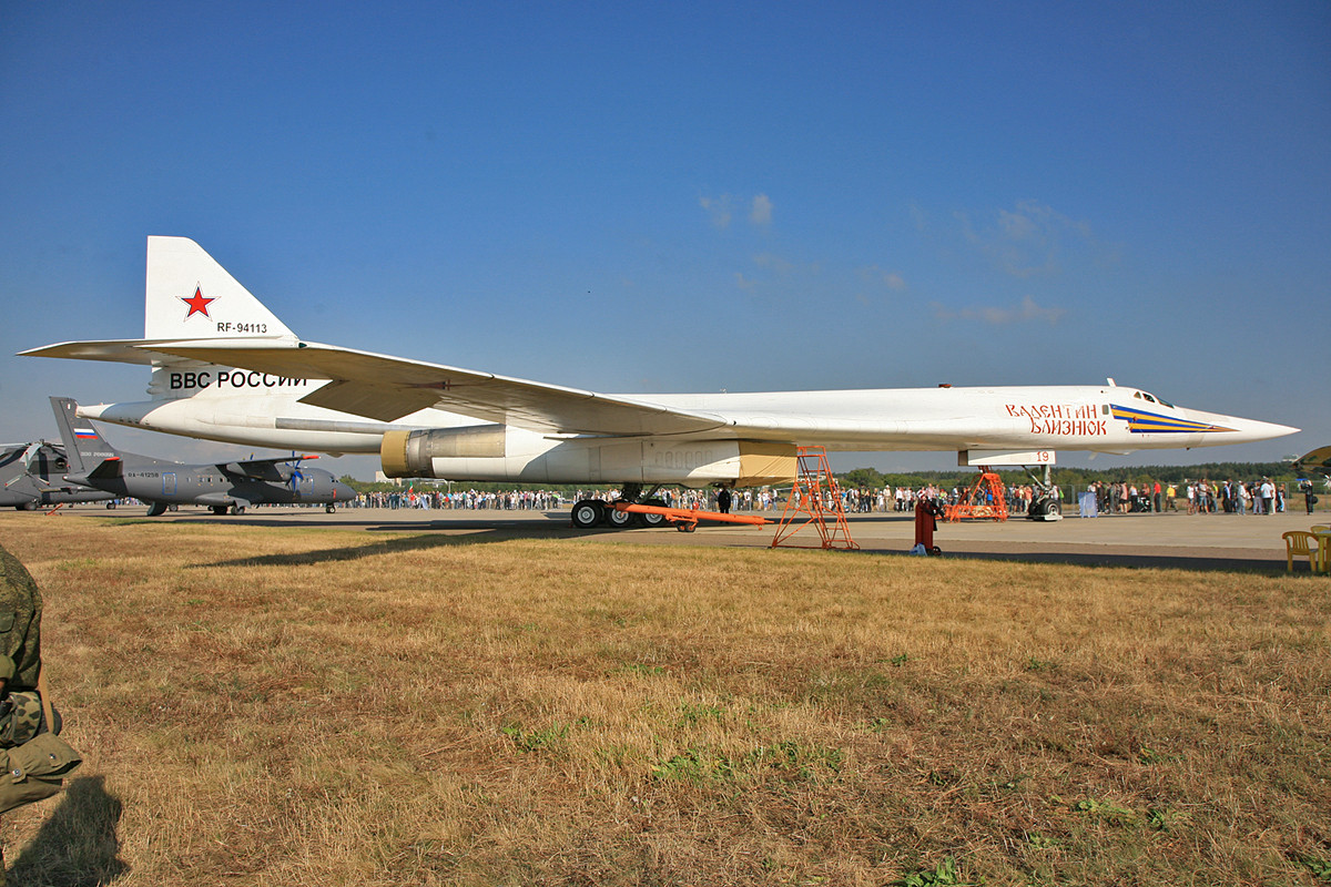 Langstreckenbomber TU-160.