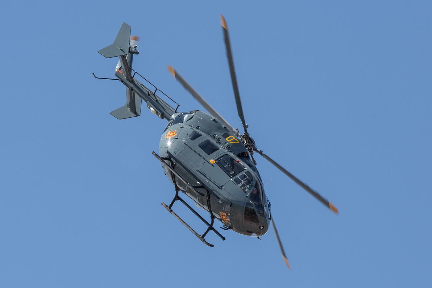 Der H-145 dient auch bei den Spezialkräften.