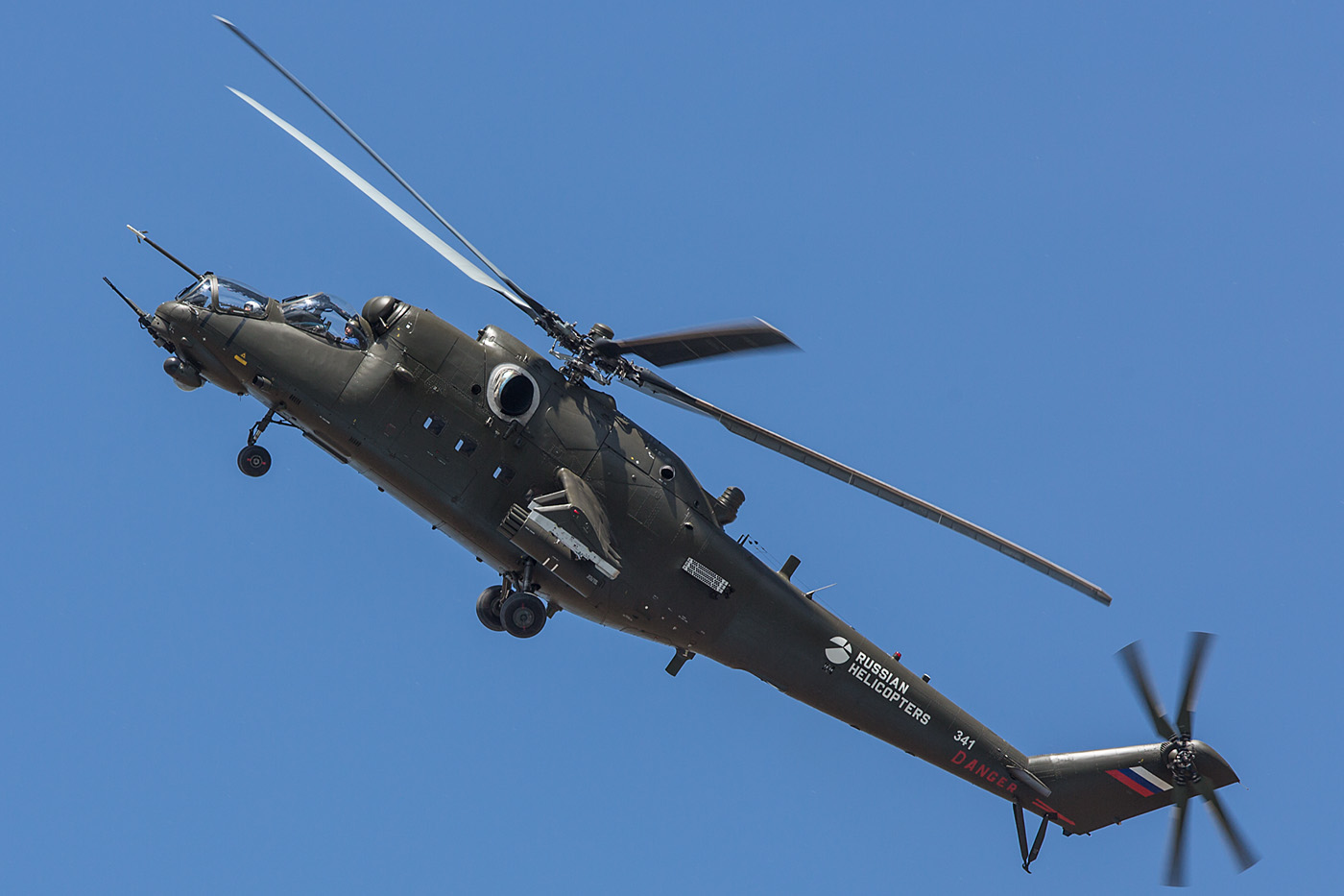 Russian Helicopters suchte auch in Astana für den Hind.