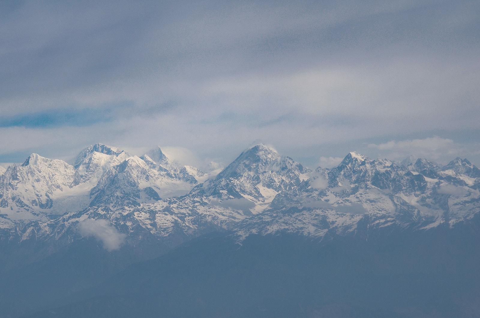 Noch ein paar Berge mehr.