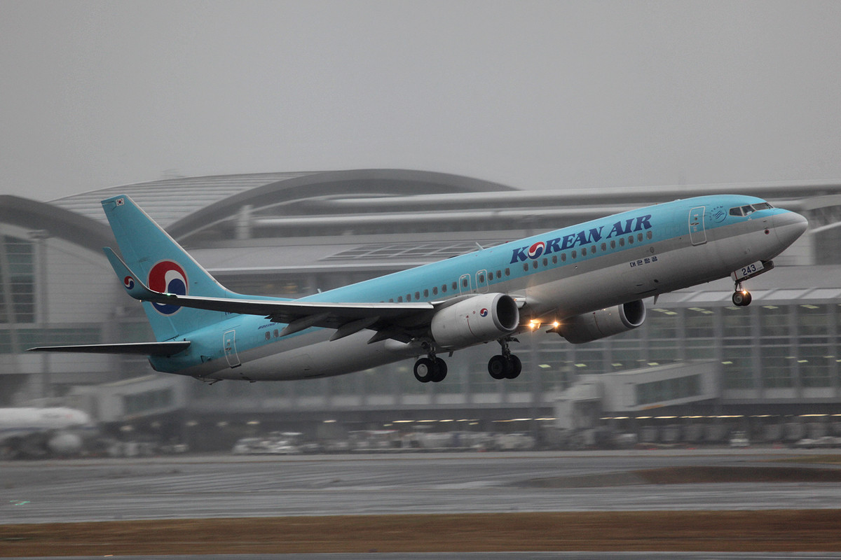 Boeing 737-900 der Korean Air.