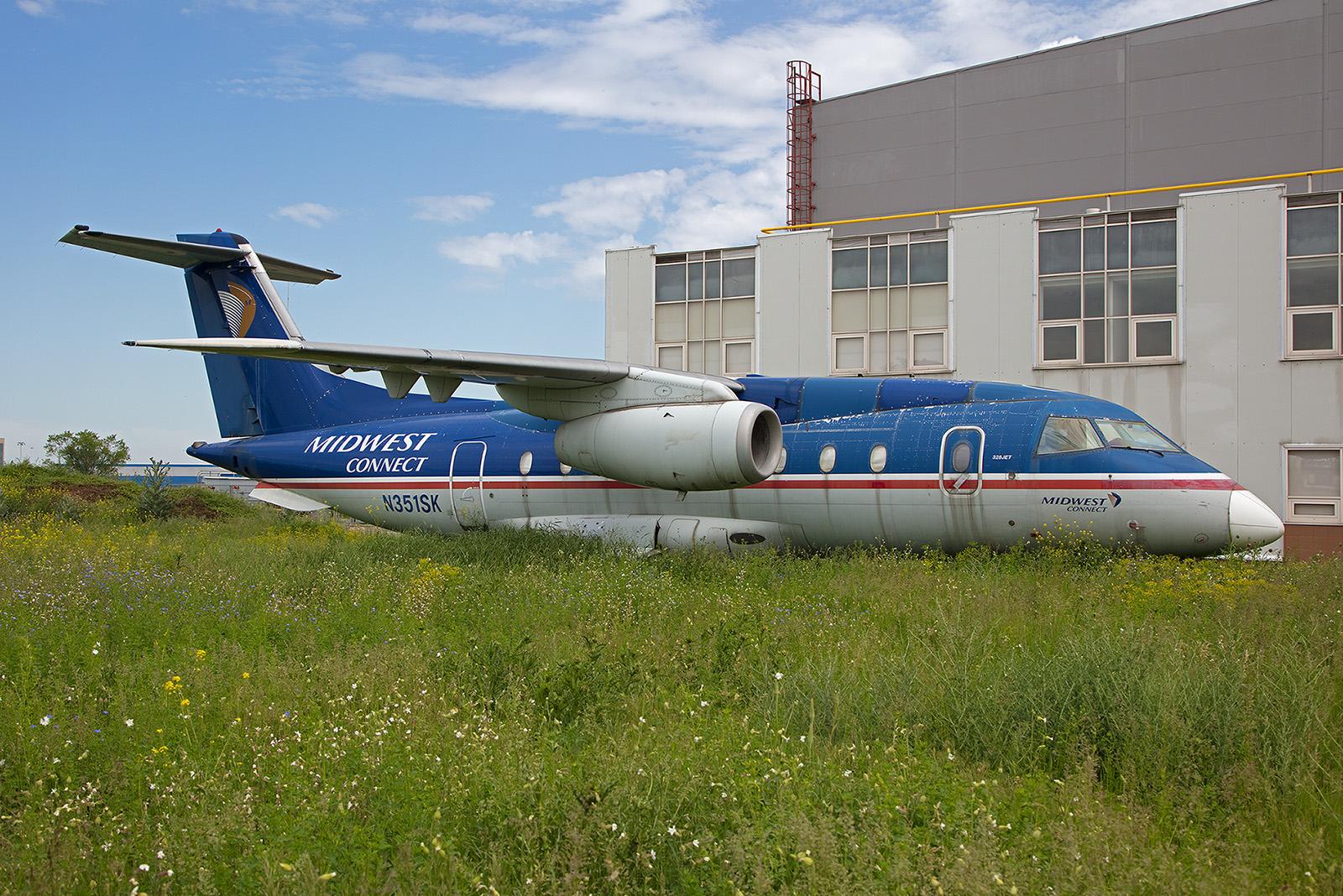 Diese Do 328Jet sollte ebenfalls zur Flotte der Caspiy stoßen.
