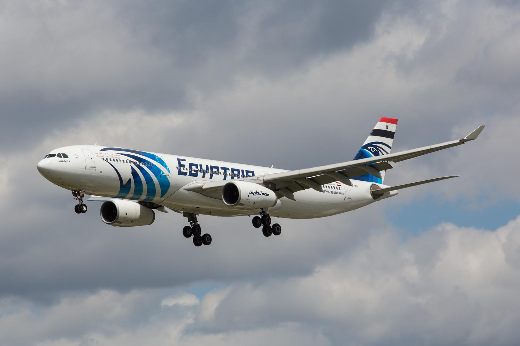 Diese A 330 der Egyptair diente zweitweise als Regierungsmaschine, solange die eigentliche A 340 im Check war.