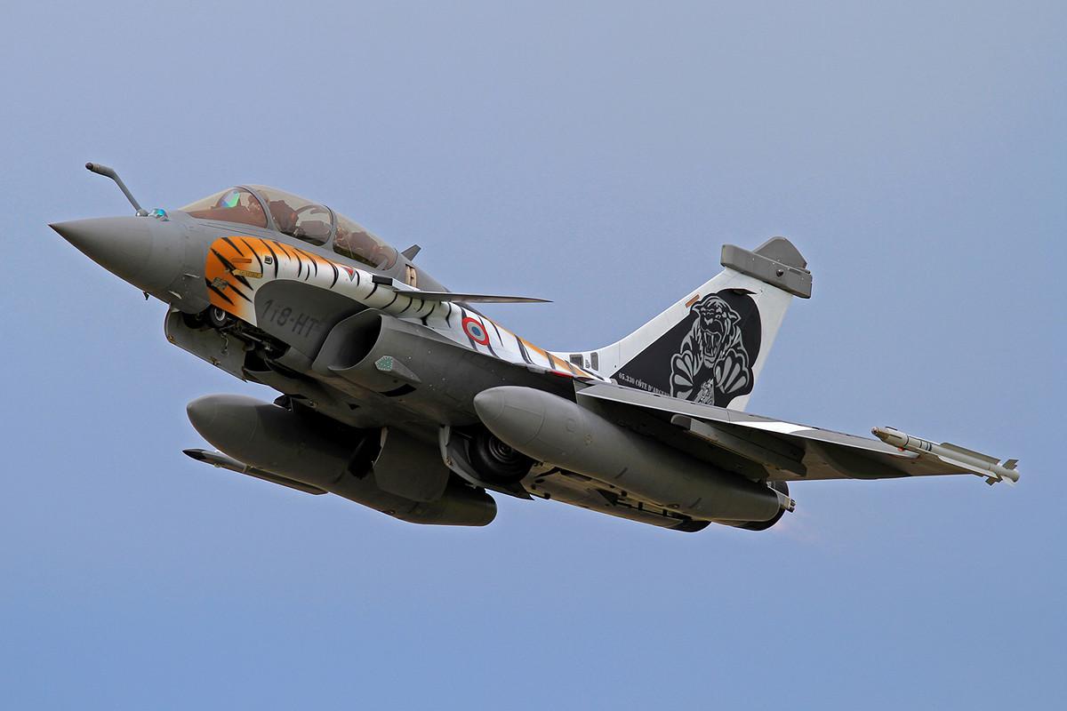 Leider kam schon das dritte Jahr in Folge keine Mirage 2000 mehr zum NTM.