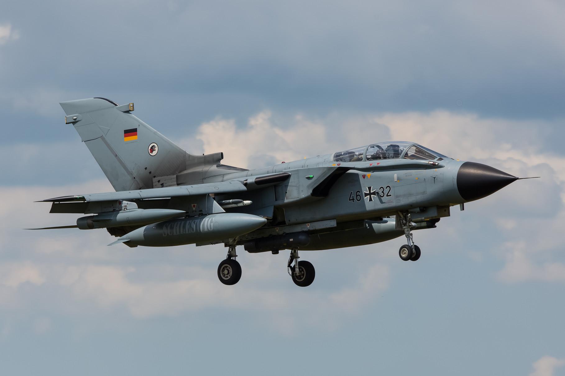 Alle deutschen ECR Tornados sind mittlerweile in Jagel zu Hause