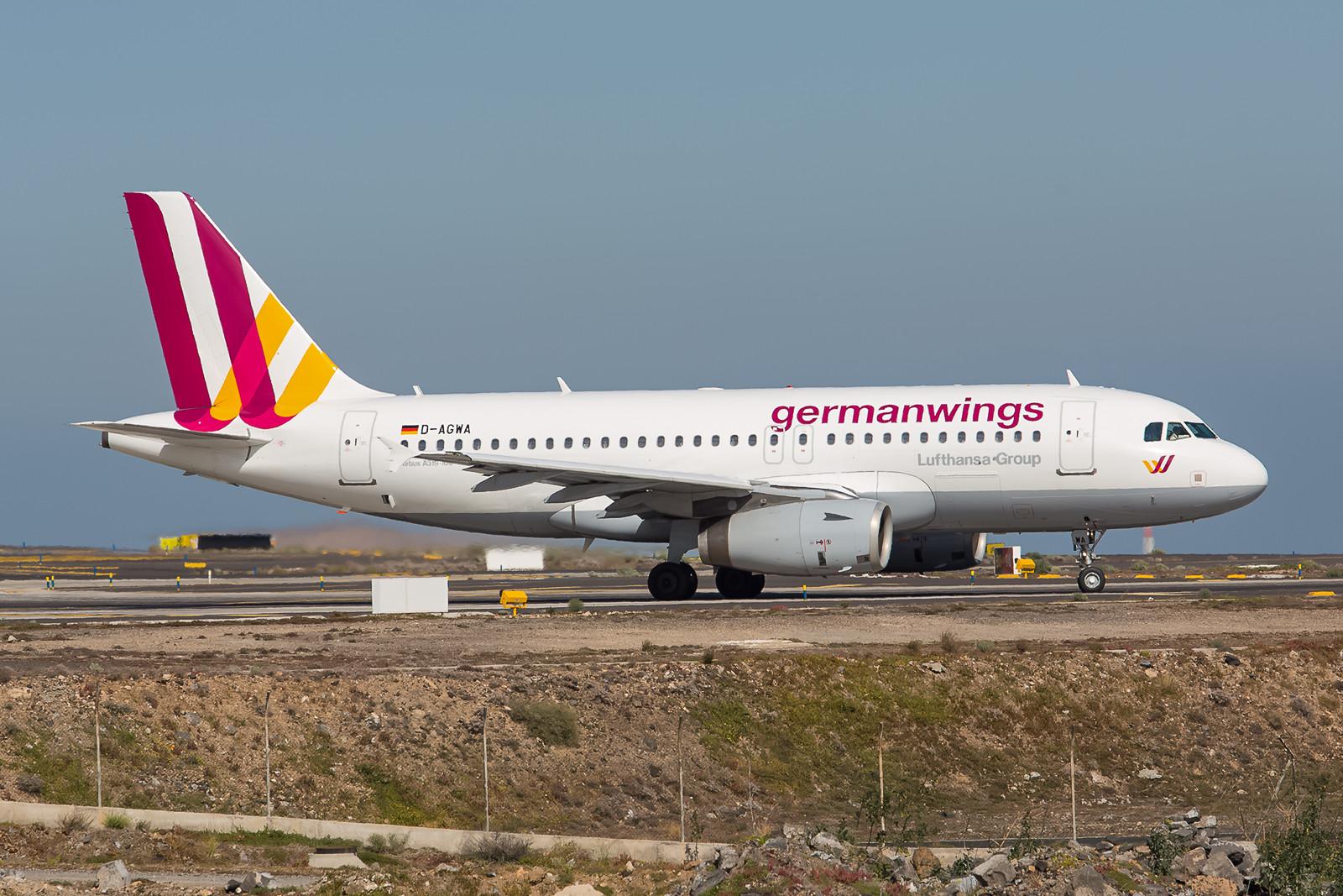 Seit 2006 fliegt die D-AGWA, ein Airbus 319-132, schon bei Germanwings.