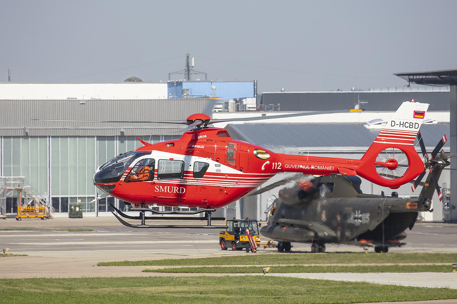 H135 für die Luftrettung in Rumänien