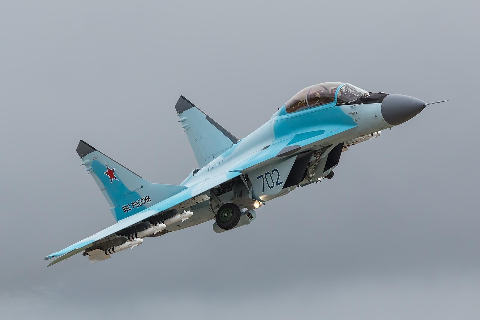 Die derzeit modernste Version der Fulcrum, die MiG-35.