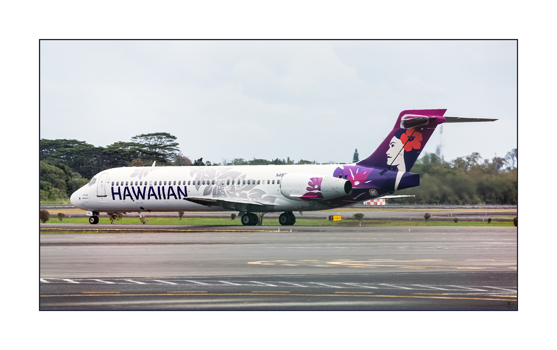 Boeing B-717-200 Po´ouli N489HA Hawaiian Airlines