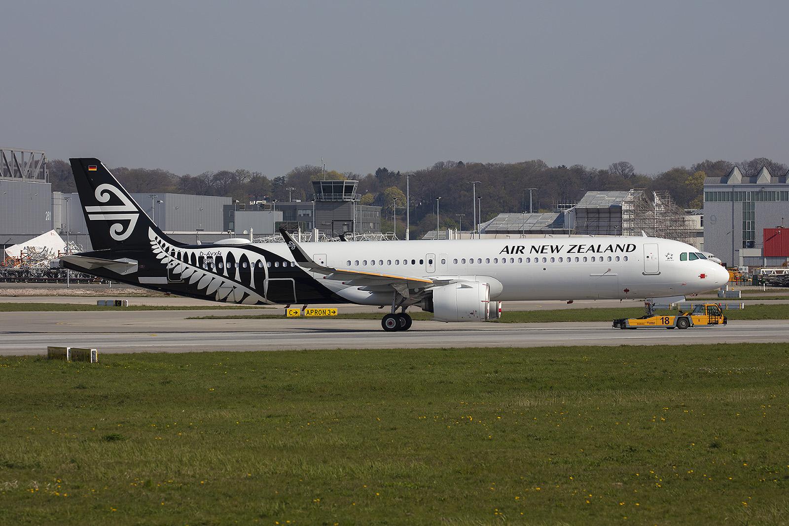 Derzeit sind mehrer Flieger für Air New Zealand in der Produktion.