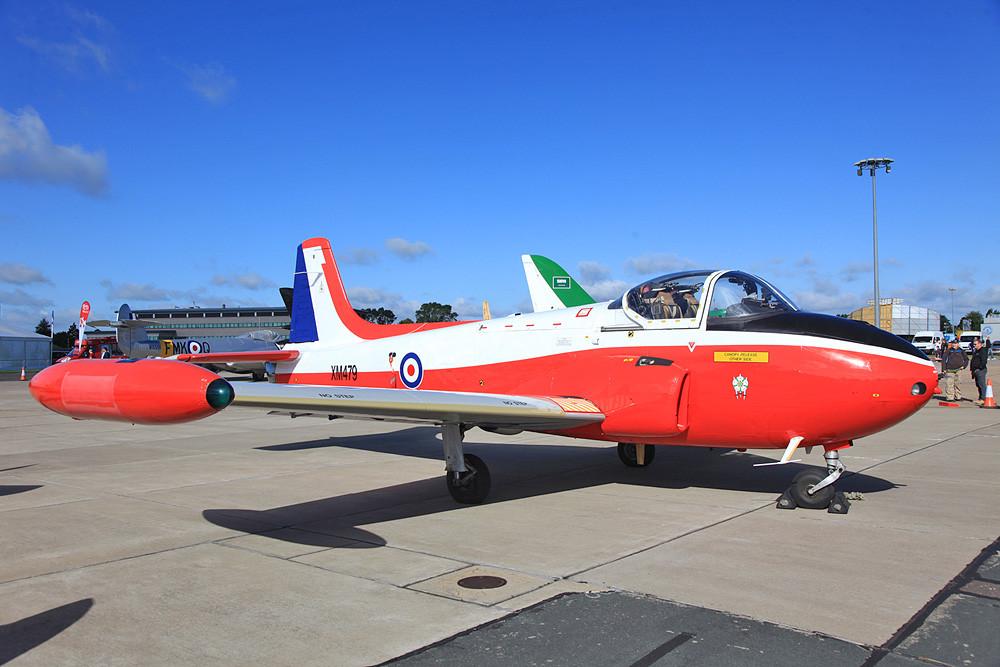 Diese T.3 fliegt ebenfalls noch auf verschiedenen Air Shows.