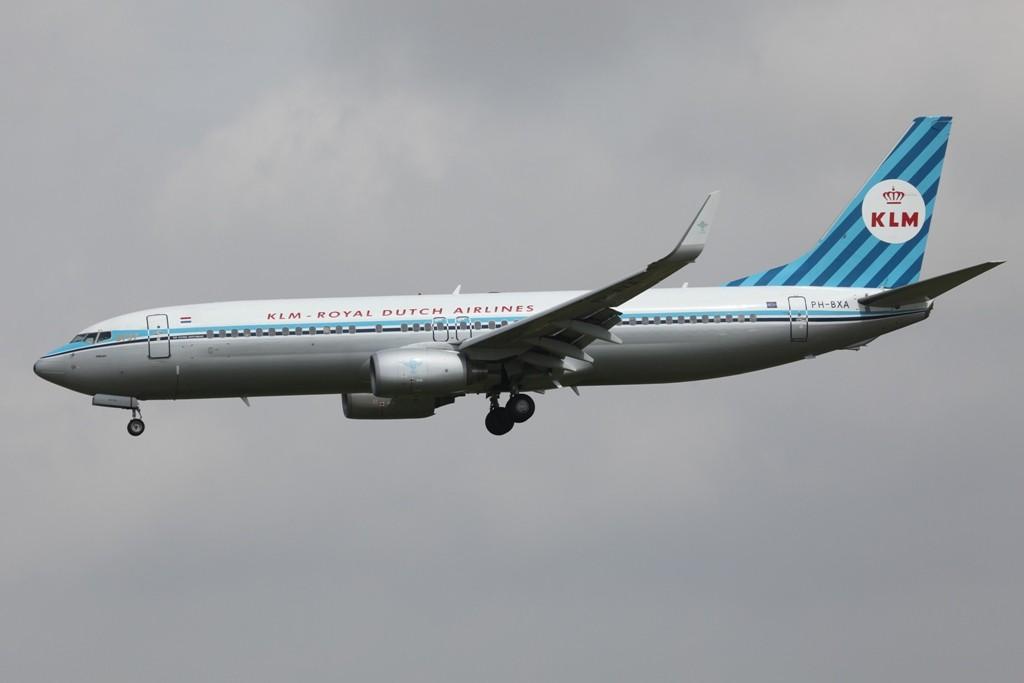 Der Retrojet von KLM.